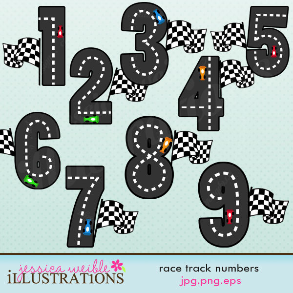 Racetrack number 1 clipart graphic black and white Racetrack number 1 clipart - ClipartFest graphic black and white