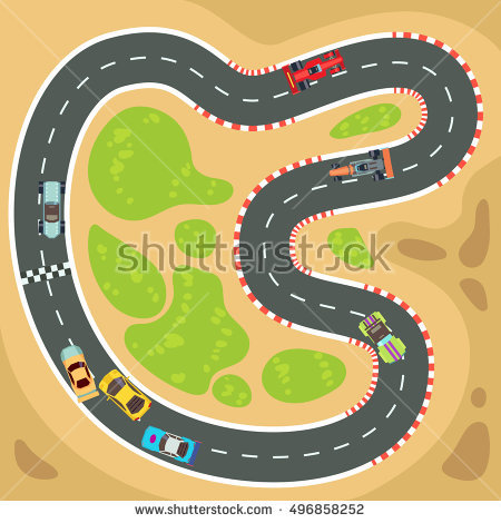 Racetrack number 1 clipart svg black and white library Race Track Stock Images, Royalty-Free Images & Vectors | Shutterstock svg black and white library