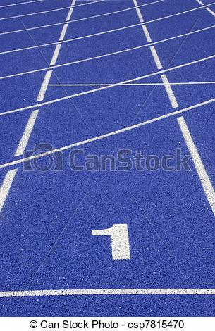 Racetrack number 1 clipart jpg transparent download Stock Photography of number one on race track of indoor stadium ... jpg transparent download