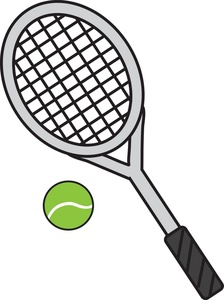 Tennis Racket Clipart | Clipart Panda - Free Clipart Images vector freeuse