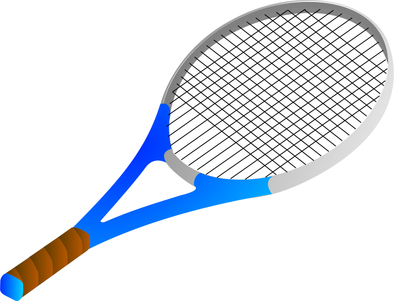 Rachet clipart svg library Free Clipart: Tennis racket | Anonymous svg library