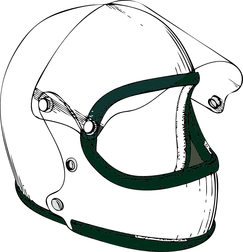 Racing helmet clipart jpg black and white stock Free Helmet Cliparts, Download Free Clip Art, Free Clip Art ... jpg black and white stock