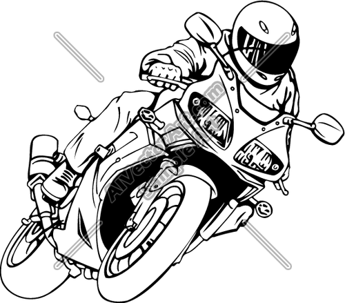 Racing motorcycle clipart vector free stock Free Motorcycle Racing Cliparts, Download Free Clip Art ... vector free stock