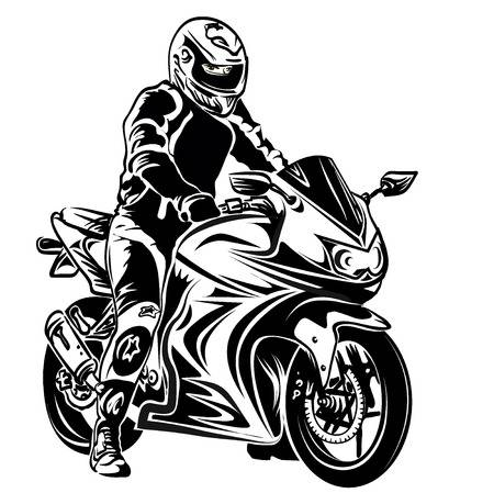 Racing motorcycle clipart 3 » Clipart Station graphic freeuse library