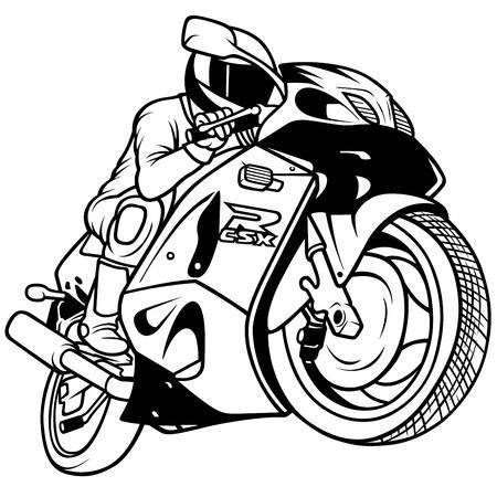 Racing motorcycle clipart 6 » Clipart Portal clip art library