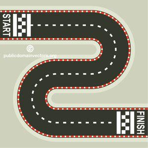 Racing track clipart transparent 466 free racing race track vector   Public domain vectors transparent