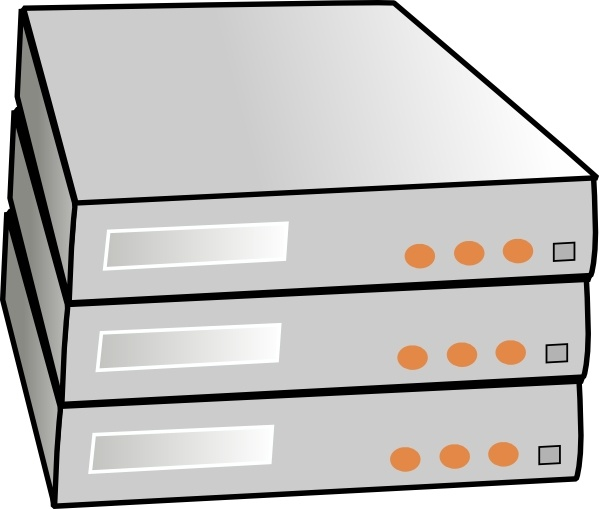 Rack server clipart clip royalty free stock X86 Rack Servers clip art Free vector in Open office drawing ... clip royalty free stock