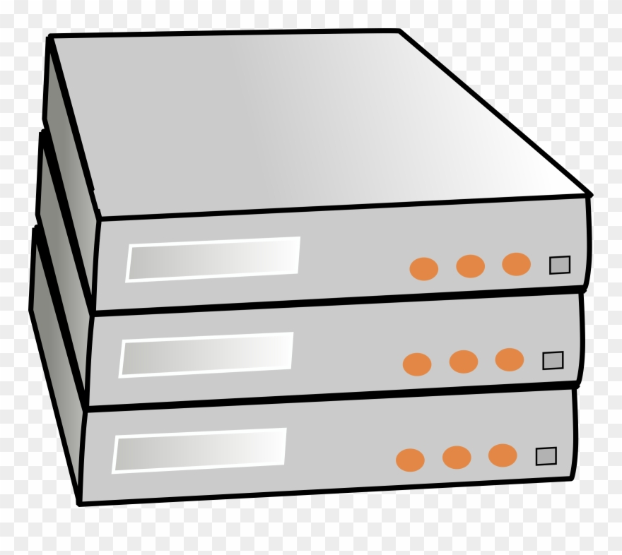 Rack server clipart vector free stock Clip Art Stock Stacked Servers Big Image Png - Rack Server ... vector free stock