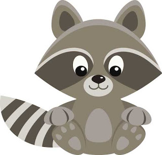 Racoon Clipart & Look At Clip Art Images - ClipartLook banner black and white library