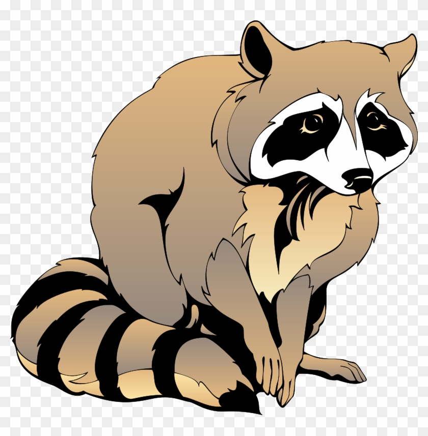 Raccoon Clip Art Free - Black And White Raccoon Clipart ... image freeuse