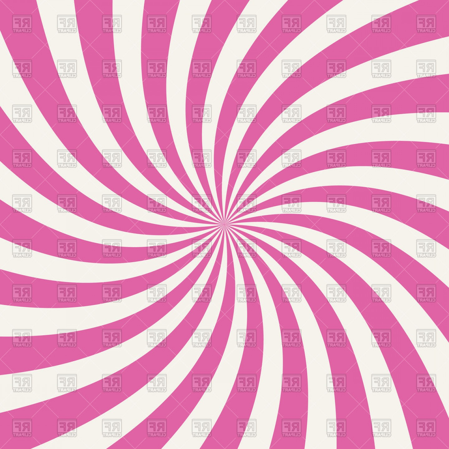 Radial lines clipart banner library download Pink Swirling Radial Pattern Background Vector Clipart ... banner library download