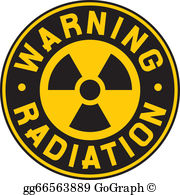 Radiation Clip Art - Royalty Free - GoGraph graphic
