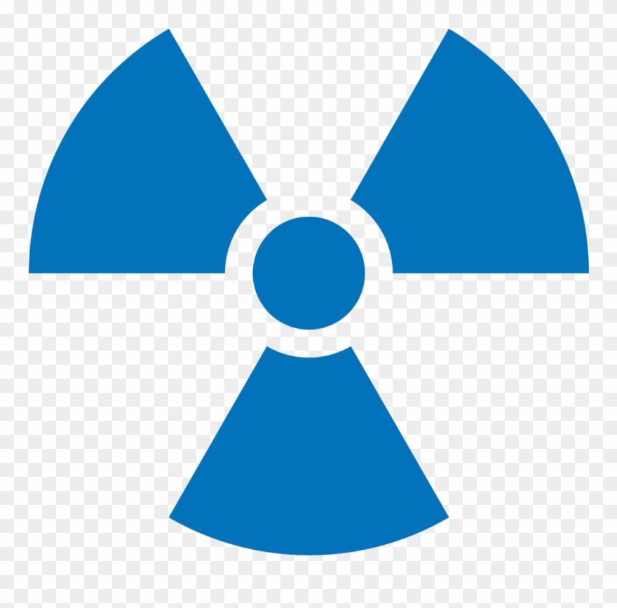 Radiation clipart vector royalty free Symbol - Radiation - Transparent Radiation Symbol Blue ... vector royalty free