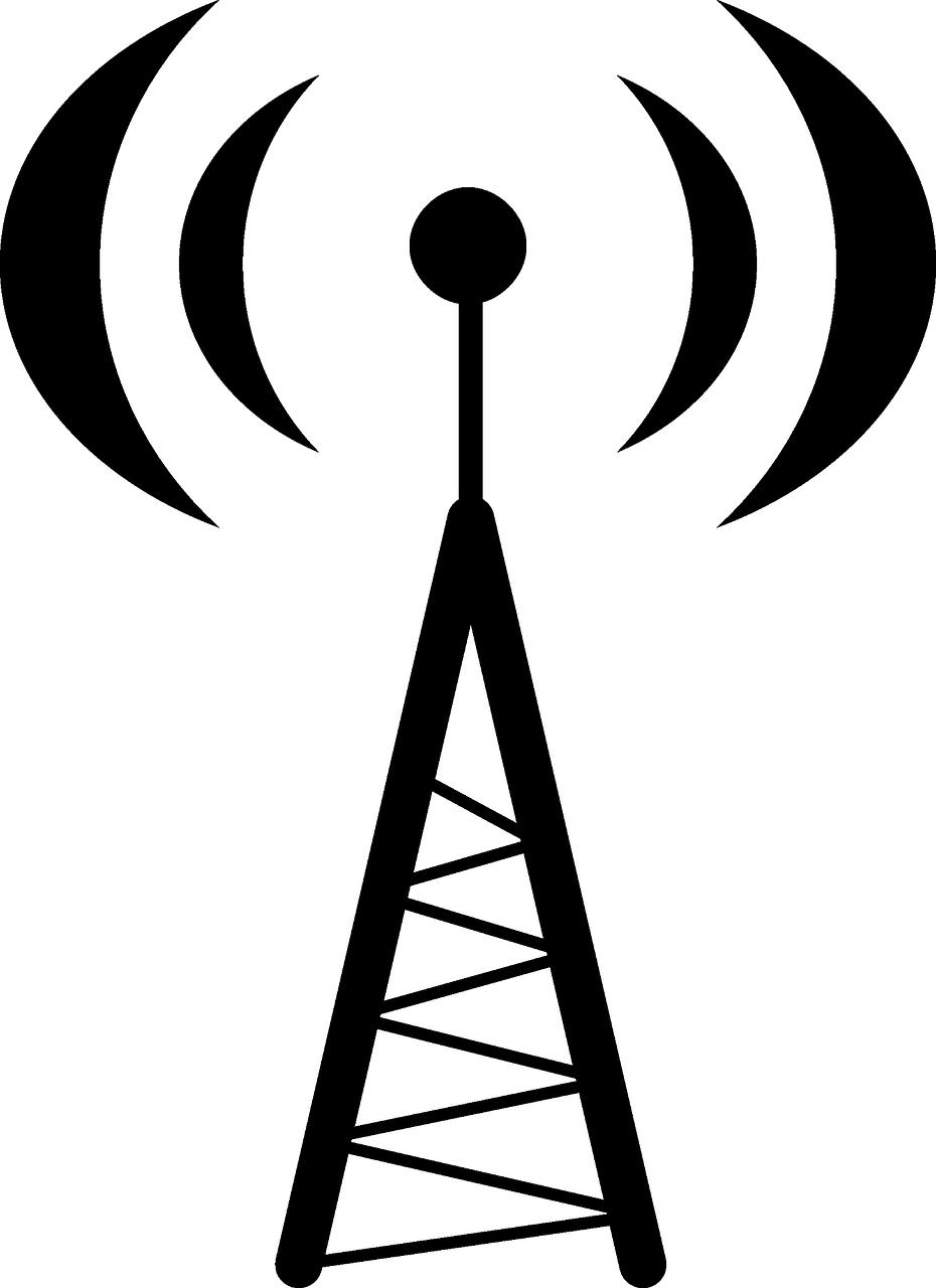 Wireless communication clipart transparent Radio Antenna Cliparts - Radio Antenna , Transparent Cartoon ... transparent