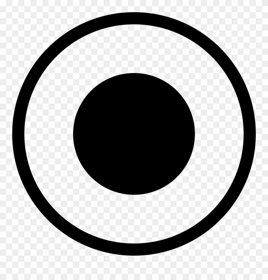 Radio button icon clipart picture Radio Button Selected Comments - Black And White Vegetarian ... picture