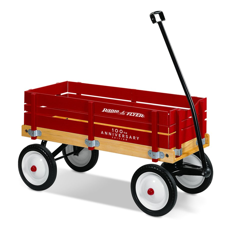 Download wooden radio flyer wagon clipart Radio Flyer ... image royalty free