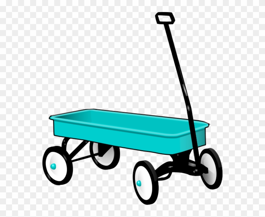 Radio Flyer Wagon Clip Art - Red Wagon - Png Download ... image library library