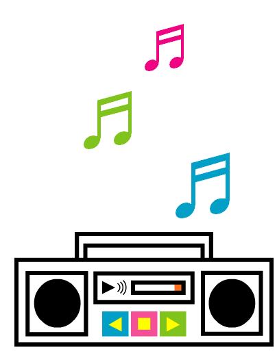 Radio with music notes clipart clip art radio music notes recorder | Clipart Panda - Free Clipart Images clip art