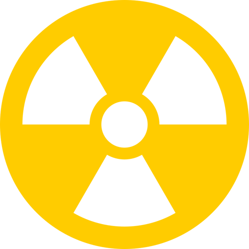 Radioactive clipart transparent png black and white library Radioactive transparent icon | Public domain vectors png black and white library
