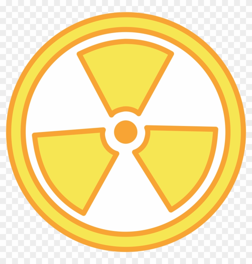 Radioactivity clipart png black and white Big Image - Radioactive Clipart, HD Png Download - 2400x2400 ... png black and white