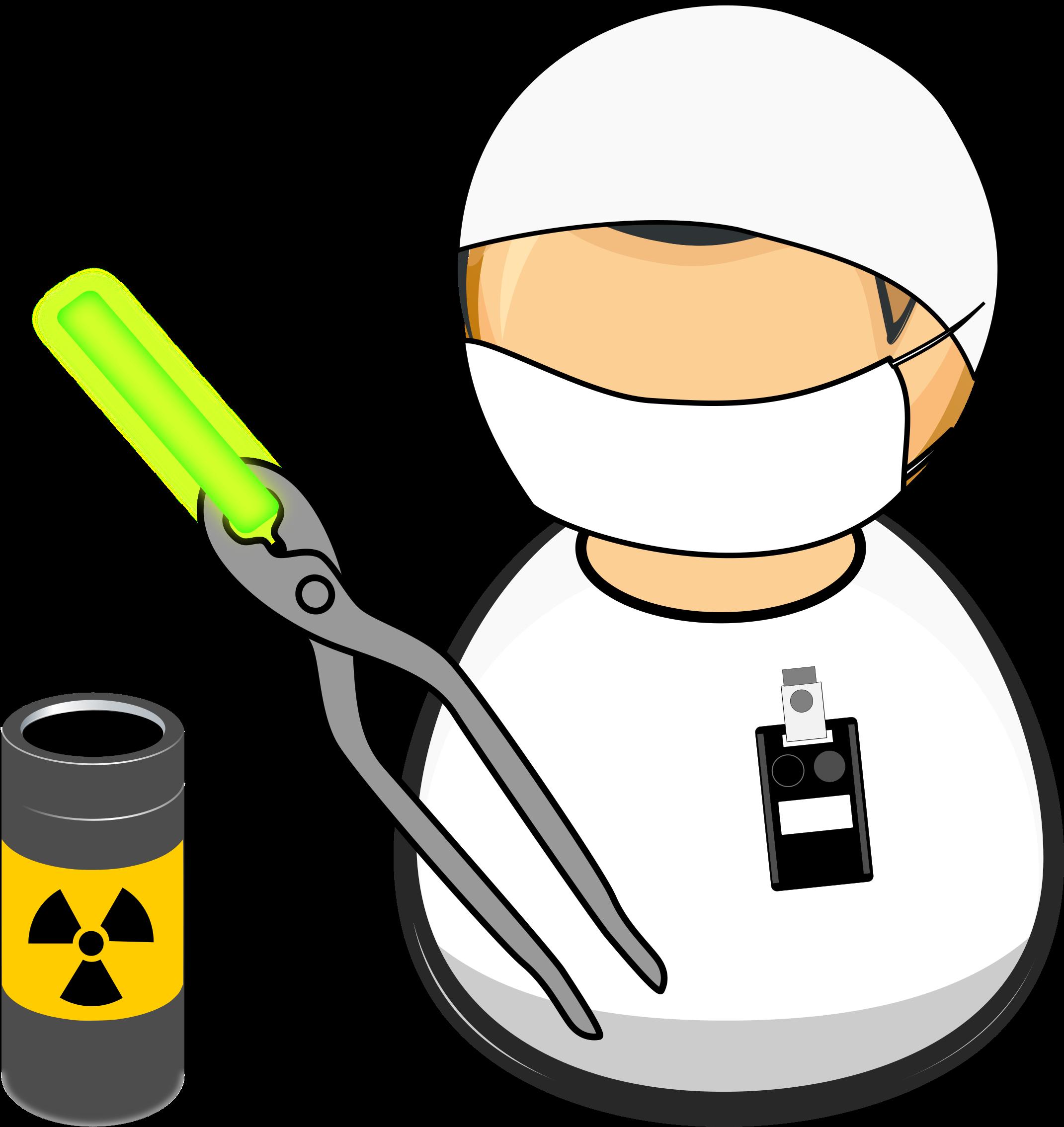 Radioactivity clipart clip art Nuclear Facility Worker Vector Clipart Image - Radioactivity ... clip art