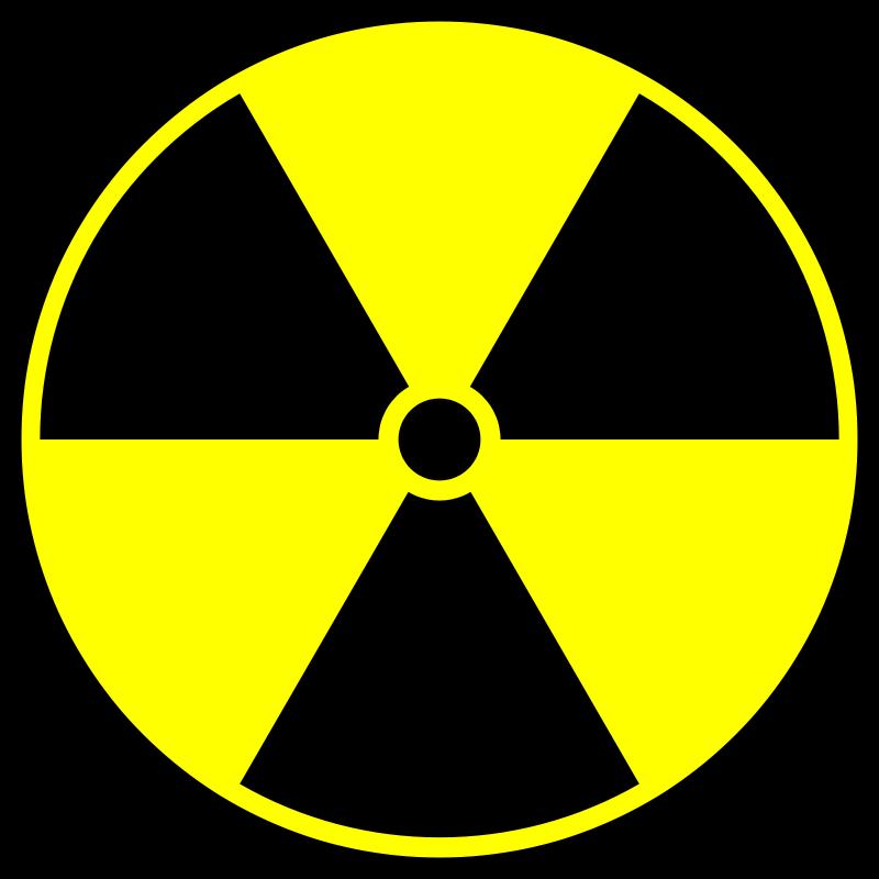 Radioactivity clipart svg royalty free library Free Clipart: Radioactive symbol | IncessantBlabber svg royalty free library