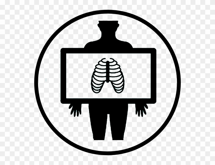 Radiology symbol clipart picture black and white stock Radiology - X Ray Lung Icon Clipart (#4178228) - PinClipart picture black and white stock