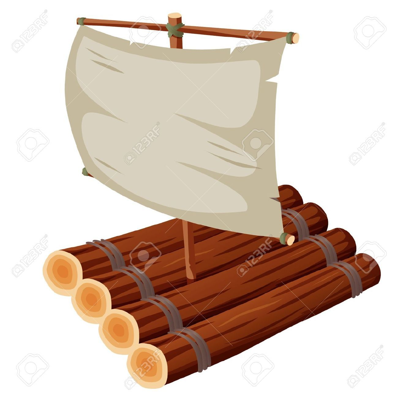 Raft images clipart picture transparent stock Wooden raft clipart » Clipart Portal picture transparent stock