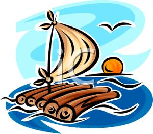 Raft images clipart graphic library Rafting Clipart | Clipart Panda - Free Clipart Images graphic library