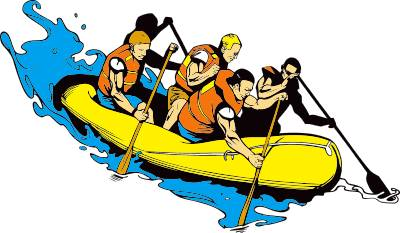 Raft images clipart vector royalty free Free Rafting Cliparts, Download Free Clip Art, Free Clip Art ... vector royalty free