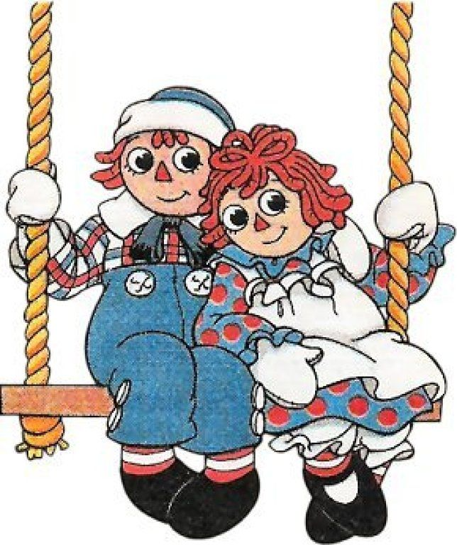 Raggedy ann and andy clipart clipart freeuse download RAGGEDY ANN AND ANDY • | Raggedy ann | Raggedy ann,,y ... clipart freeuse download
