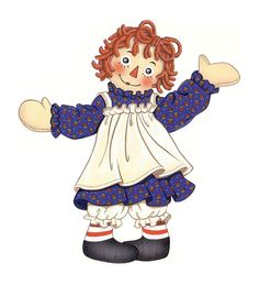 Raggedy ann and andy clipart black and white download 223 Best CLIP ART - RAGGEDY ANN & ANDY - CLIPART images in ... black and white download