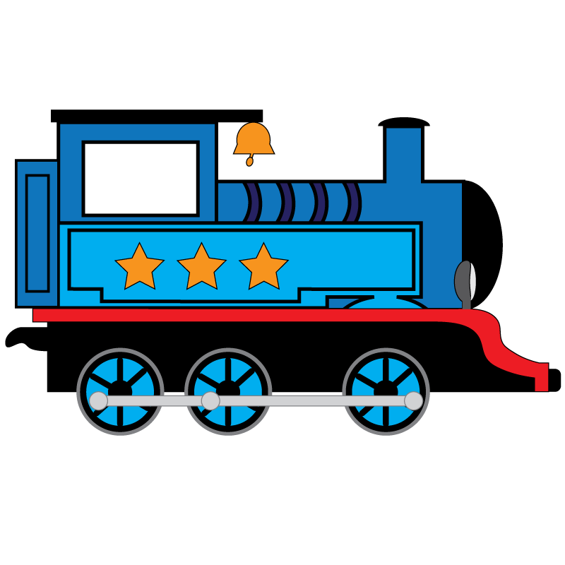 Railroad car clipart clipart free library Not So L'il Bundle - L'il Pals Decals clipart free library