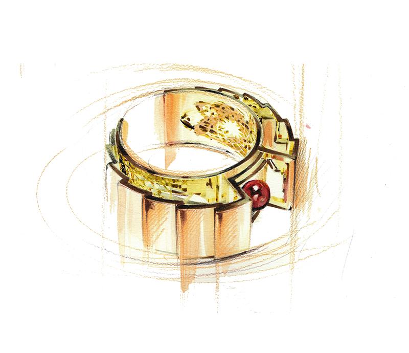 Raimbel in a gold of pote cliparts clipart freeuse Design del Gioiello - Undergraduate Courses - Rome - IED ... clipart freeuse