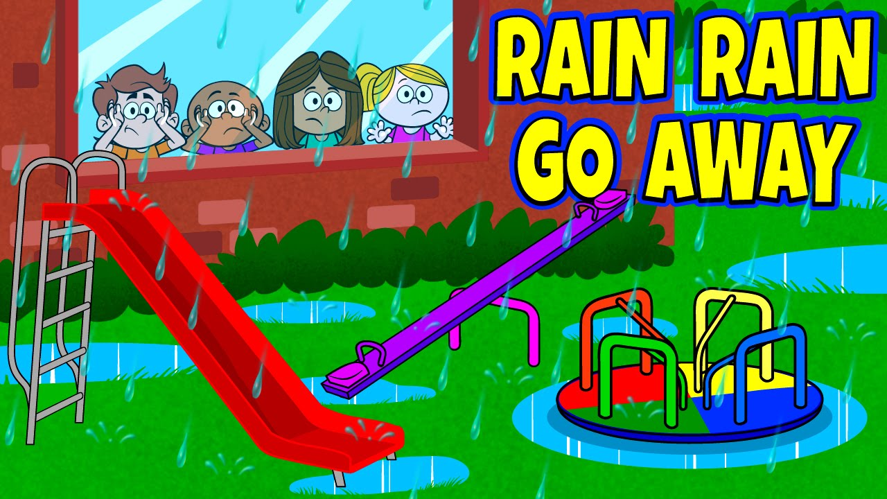 Rain clipart video picture royalty free Rain Rain Go Away Nursery Rhyme with Lyrics - Nursery Rhymes - Kids Songs  by The Learning Station picture royalty free