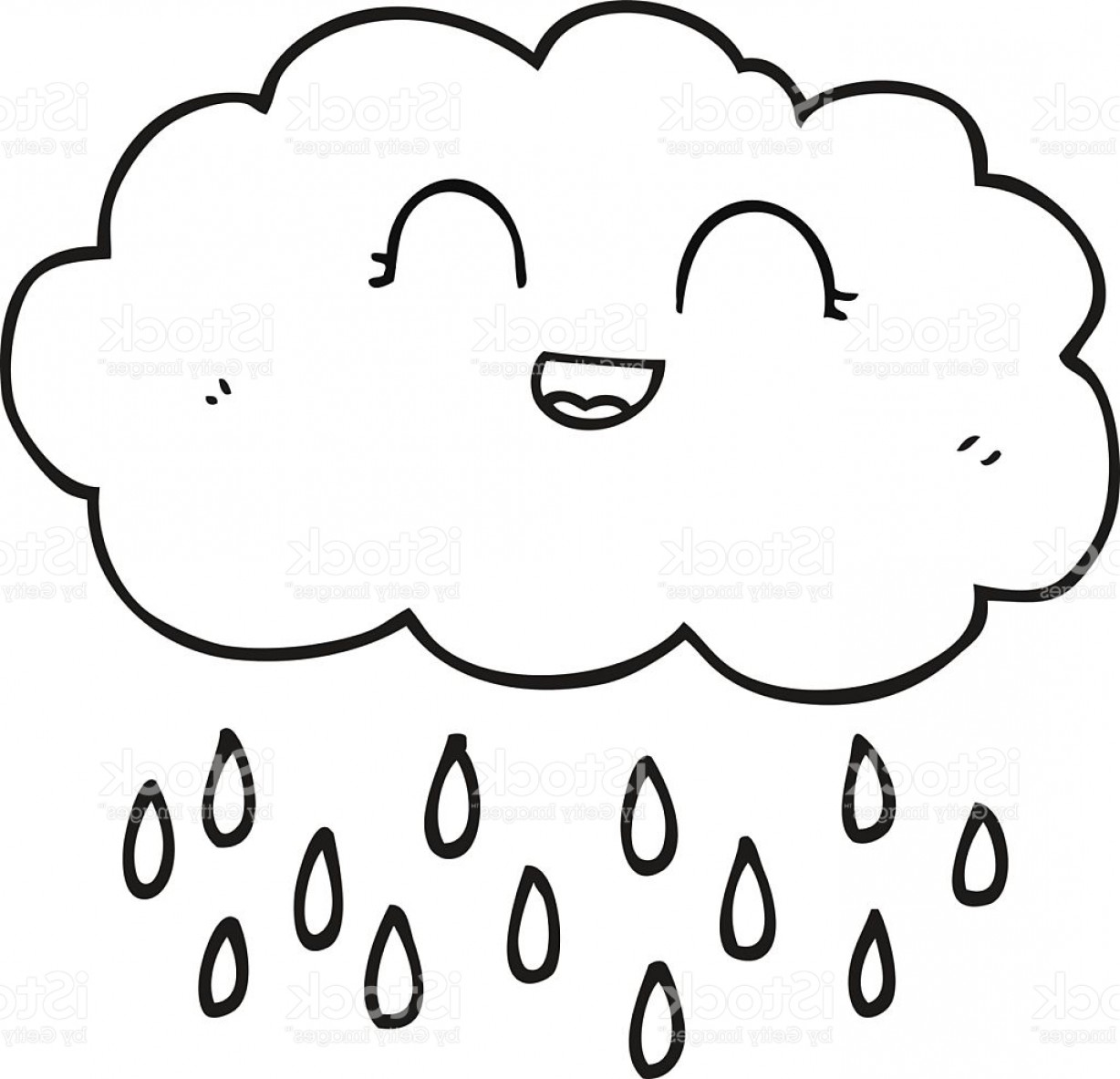 Rain cloud clipart black and white image royalty free library Cloud Black And White Clipart Black And White Cartoon Rain ... image royalty free library
