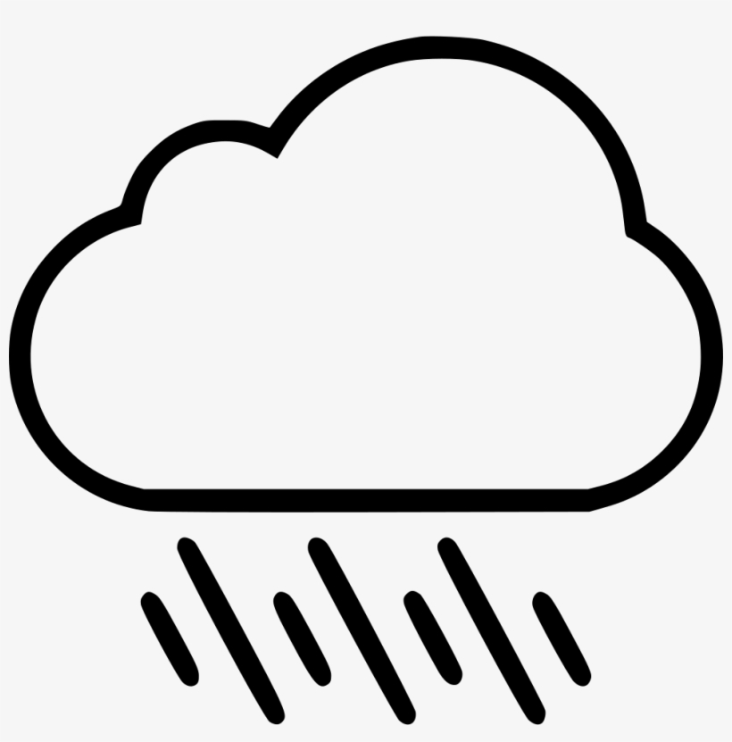 Rain cloud clipart black and white image royalty free download Rain Cloud Png - Black And White Raincloud Clipart PNG Image ... image royalty free download