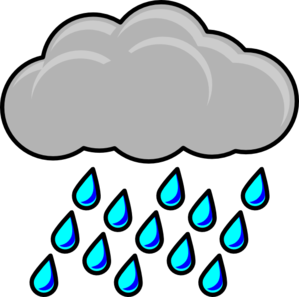 Rain Cloud Clipart & Look At Clip Art Images - ClipartLook jpg black and white