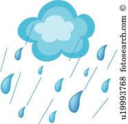Rain showers clip art clip free stock Rain shower Clipart Illustrations. 1,701 rain shower clip art ... clip free stock
