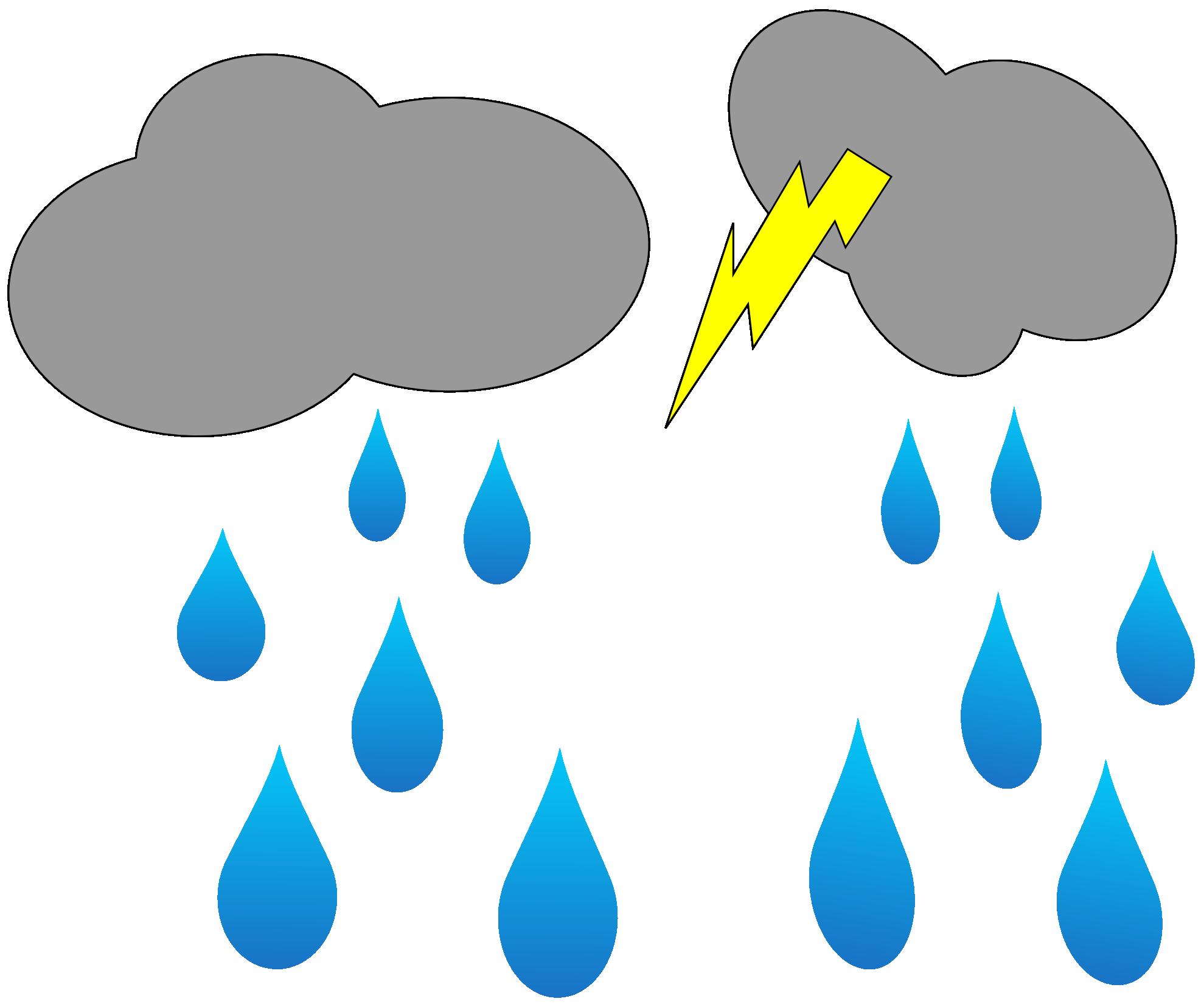 Sun clipart public domain clip art transparent stock Rain showers clipart - ClipartFest clip art transparent stock