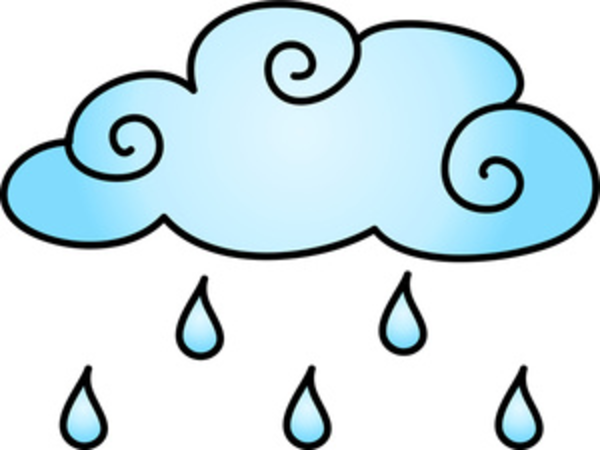 Rain showers clip art png black and white RAIN SHOWERS CLIP ART - ClipArt Best png black and white