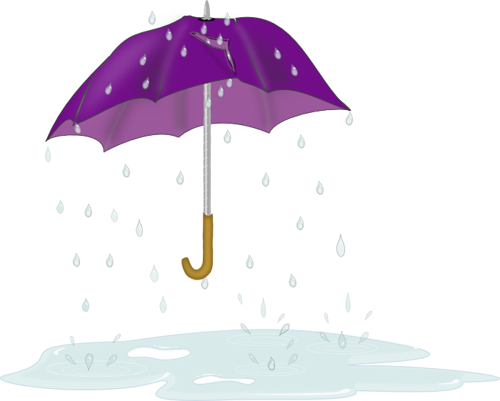Rain showers clipart royalty free stock Spring Clipart - Graphics of the Renewal of Springtime royalty free stock