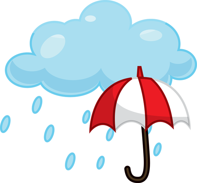 Rain sun clipart png stock Rain Cloud Clipart at GetDrawings.com | Free for personal use Rain ... png stock