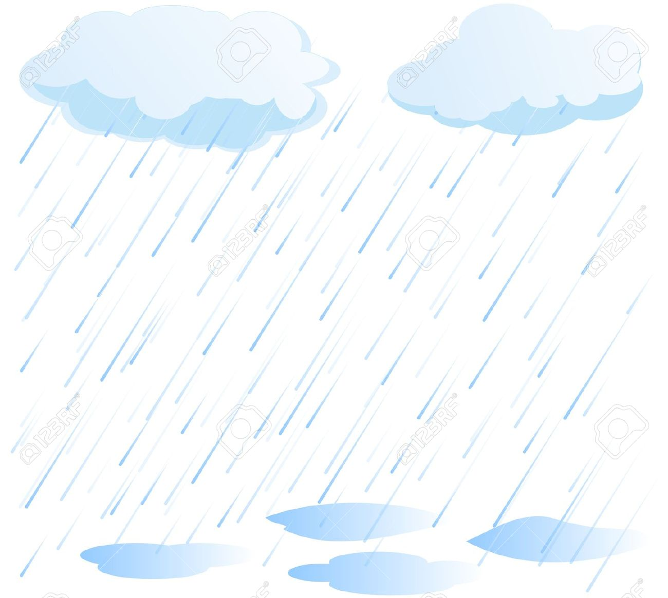 Best Rain Clipart #13798 - Clipartion.com svg free library