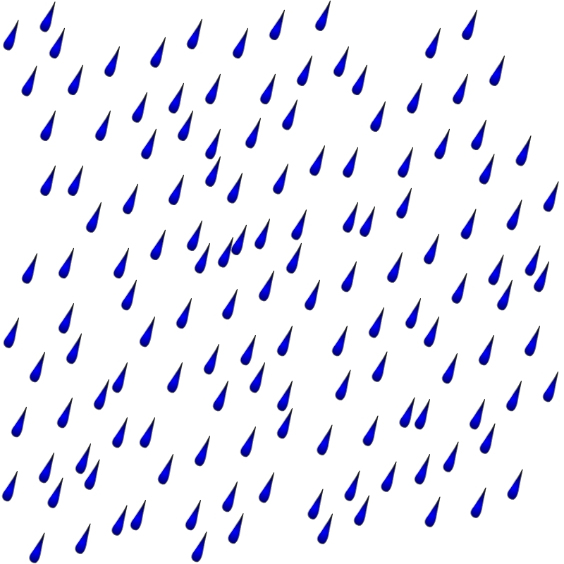 Rain Image - Vector Clip Art Online, Royalty Free & Public ... image black and white stock