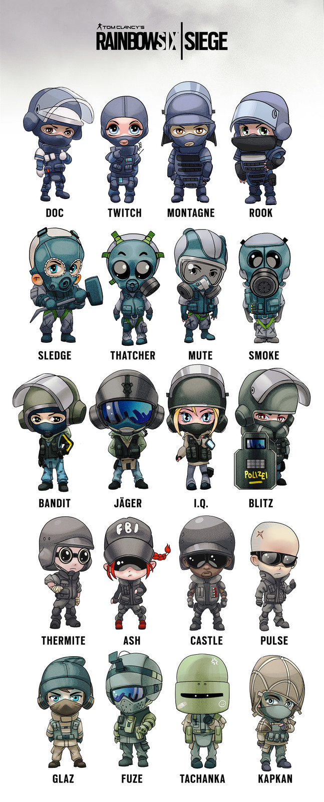 Rainbow 6 siege clipart svg freeuse library 17 Best images about rainbow six siege on Pinterest | Artworks ... svg freeuse library