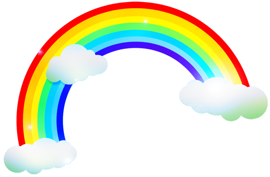 Rainbow and sun clipart png black and white download rainbow clipart for kids - Google Търсене | rainbows | Pinterest ... png black and white download