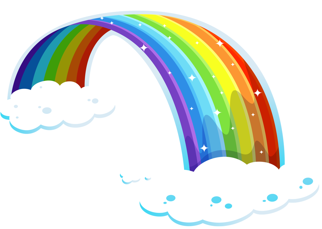 Rainbow and sun clipart graphic library 2.png | Pinterest | Clip art, Rainbows and Scrap graphic library