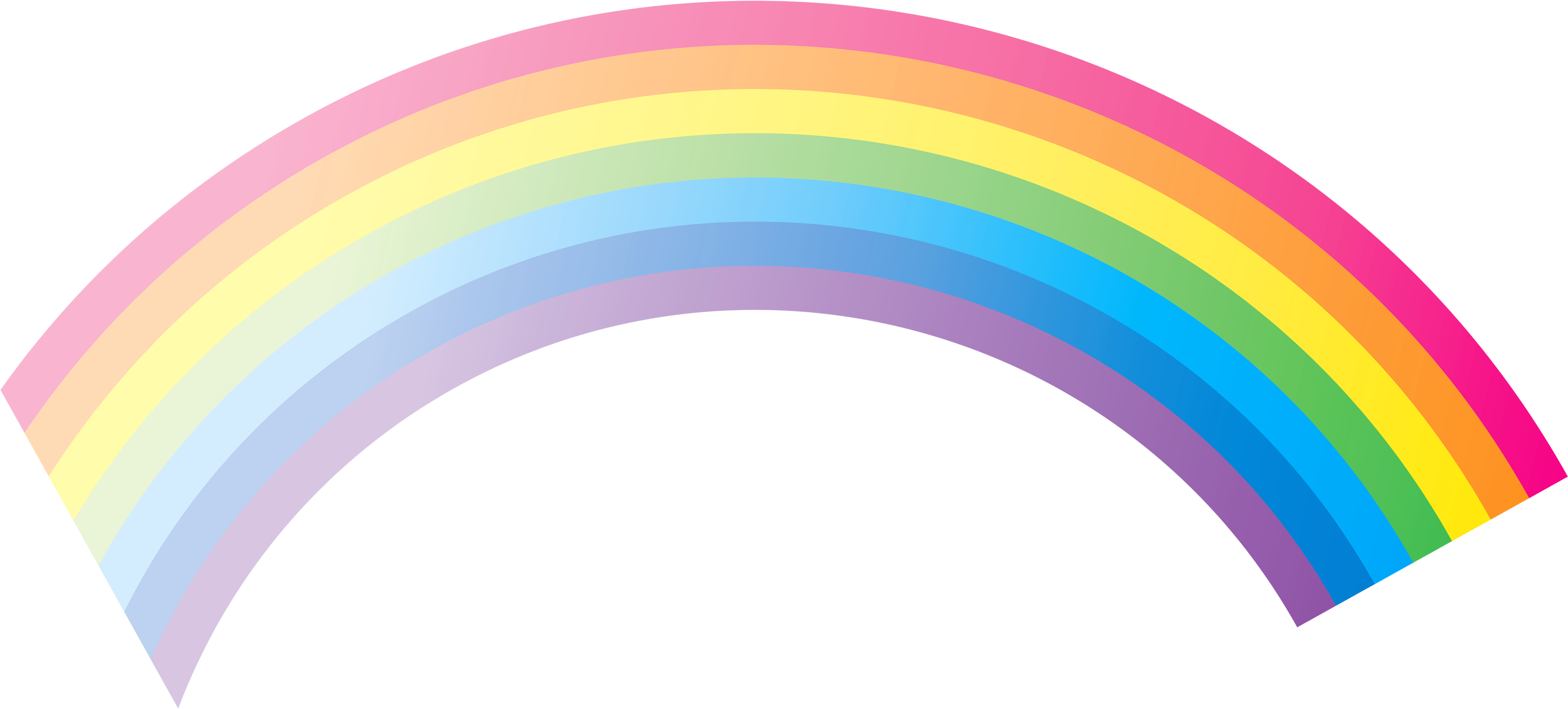 Rainbow with sun clipart picture freeuse Rainbow Seven | Isolated Stock Photo by noBACKS.com picture freeuse