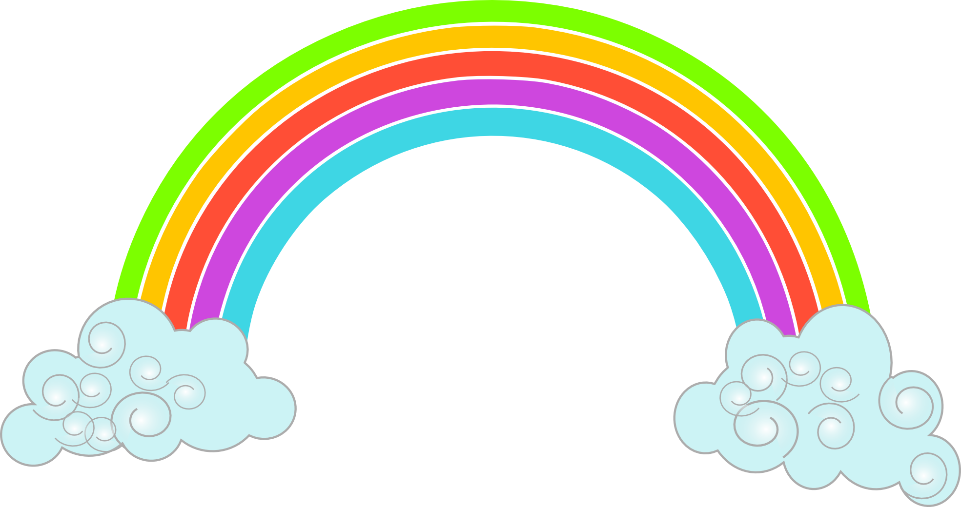 Rainbow with sun clipart free Rainbow Clipart Png Image Transparent Free Download | jokingart.com ... free